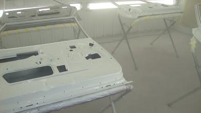 Photo: White epoxy DP primer