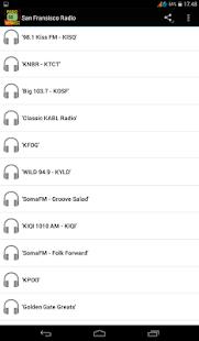 San Fransisco Radio - náhled