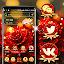 Rose Flower Glare Launcher Theme icon