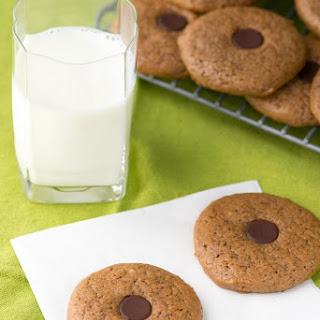 Almond Butter Button Cookies.