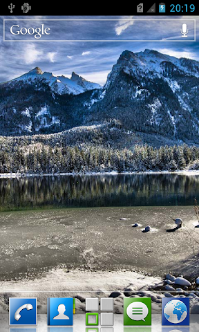 android Mountain lakes live wallpaper Screenshot 6