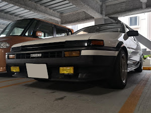 スプリンタートレノ AE86 GT-APEX 昭和61年式のカスタム事例画像 やわらかめさんの2020年03月28日20:36の投稿