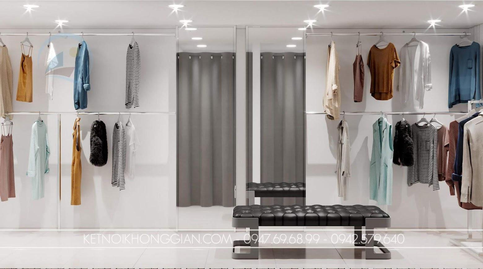 Thiết kế cửa hàng tại hà nội