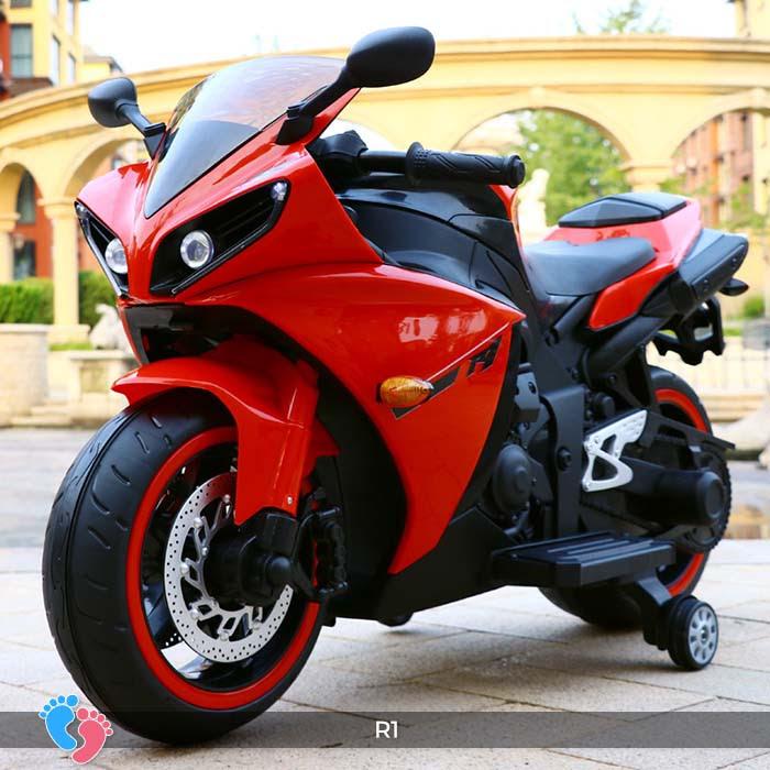 Xe mô tô điện thể thao cho trẻ R1 22