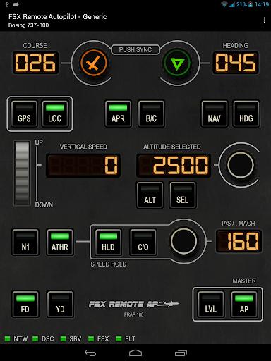 FSX Remote Autopilot