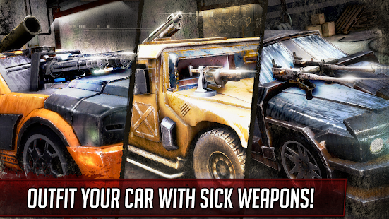 Death Race ® - Killer Car Shooting Games poster