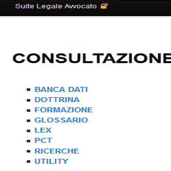 Suite Avvocato +- screenshot