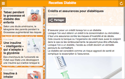 Recettes pour diabétiques- screenshot thumbnail