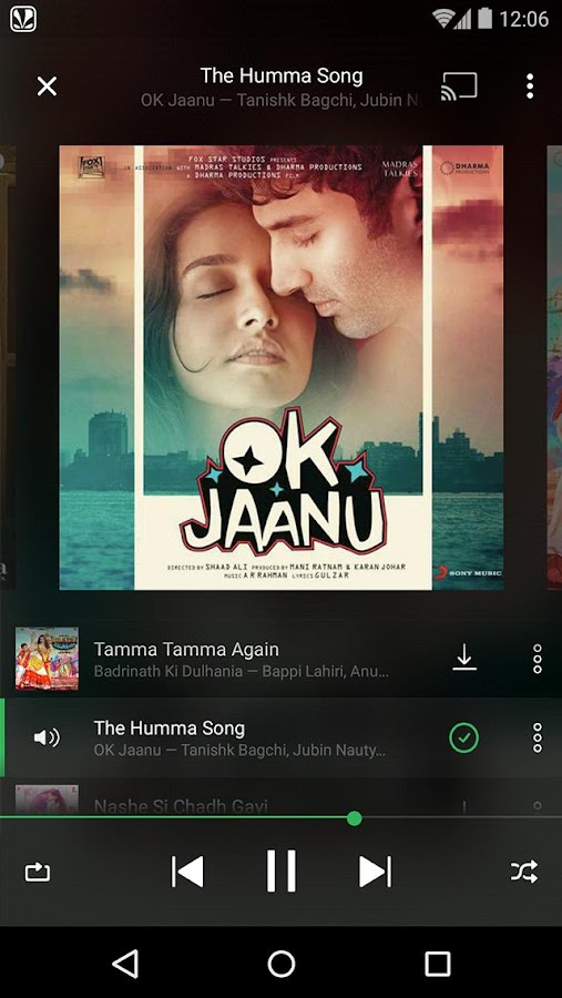 Saavn Music & Radio- screenshot
