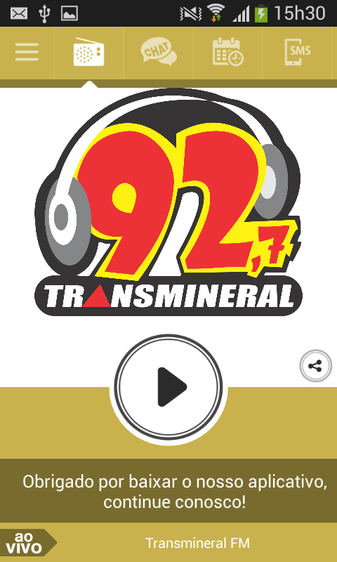 Transmineral FM- screenshot