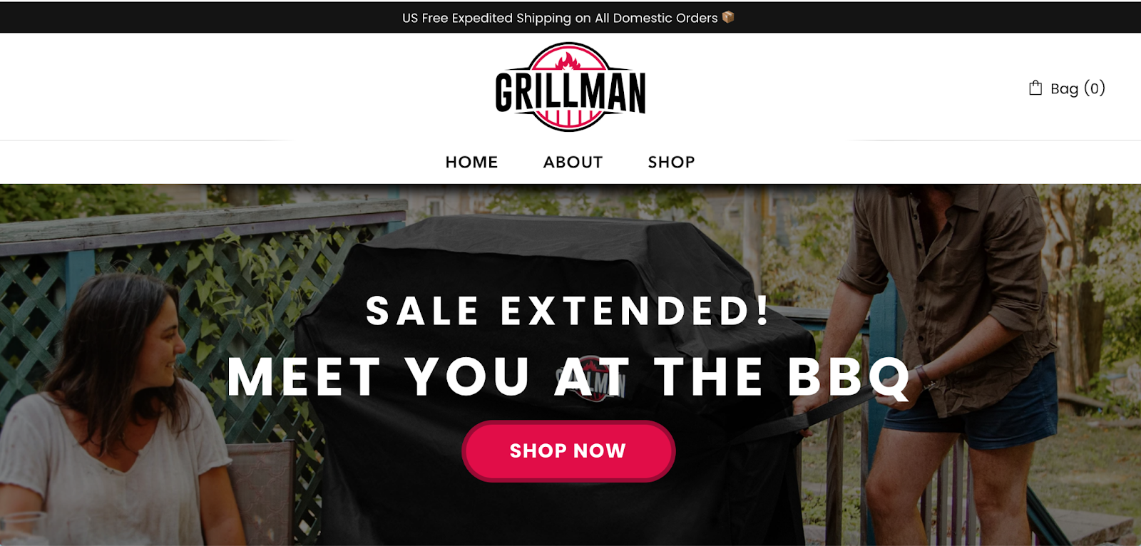 Build your one-product store on Shopify - Grillman