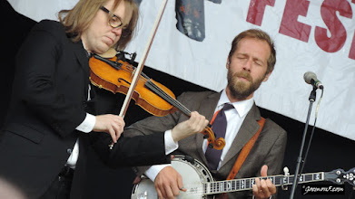 Photo: The Steep Canyon Rangers at the 2015 Calgary Folk Music Festival