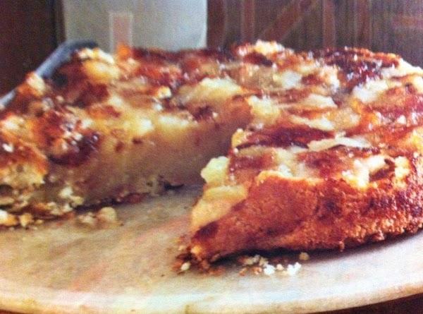 Upside-down Apple Tart Recipe