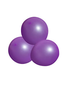 Ballong, Neonlila 12 st