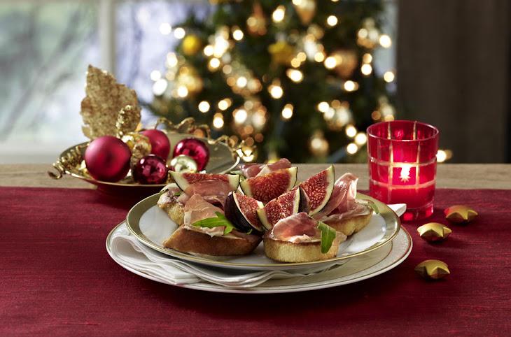 Fig and Prosciutto Bruschetta Recipe