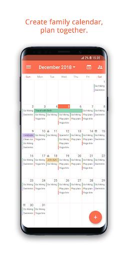 Family Shared Calendar: FamCal