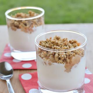 Pear Crumble Yogurt Parfait