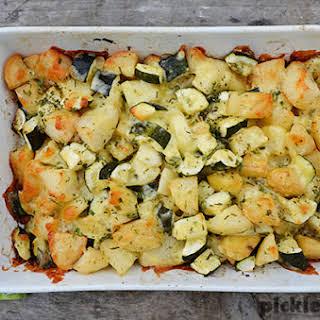 Vegetarian Cheesy Potatoes Recipes.