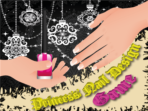 Princess Nail Design Game