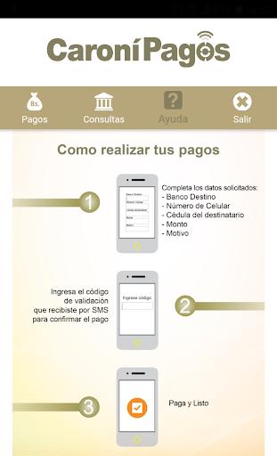 Caronu00ed Pagos Banco Caronu00ed, C.A. Banco Universal 1.5.3 screenshots 5