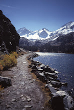 Photo: Morgan Pass Trail and lake, John Muir Wilderness, Sierra Nevada, California