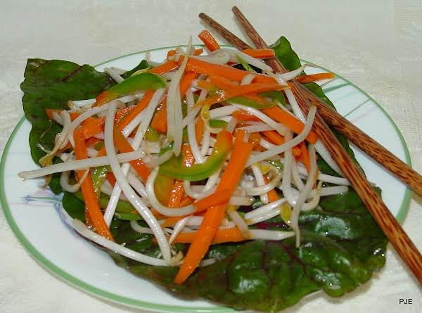 Annie's Bean Sprout Salad Recipe