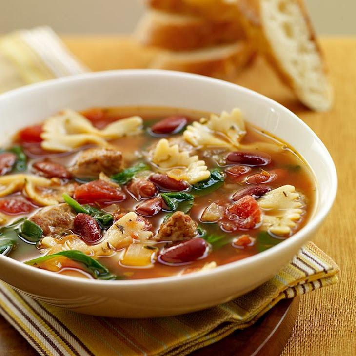 Italian Style Soup with Turkey Sausage Recipe