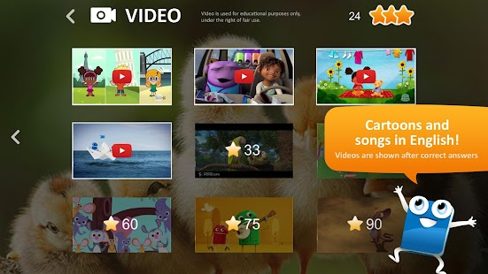 Vocaboo ABC: English for kids- screenshot thumbnail