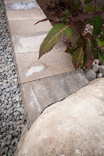 Photo: Details! Look at how this wall stone is fitted into the natural rock.