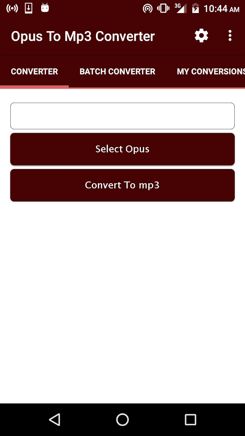 OPUS to MP3 (Online & Free) — Convertio