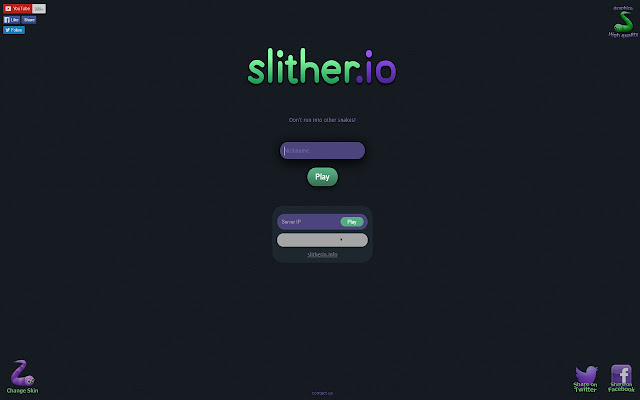 <b>Slither</b>.<b>io</b> Mod Play with friends Without LAGS
