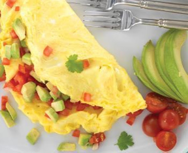Avocado Omelette Recipe
