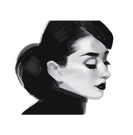 AUDREY ARTPRINT ILLUSTRATION