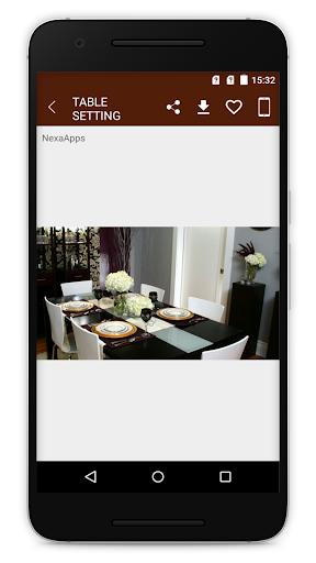 Table Setting Ideas Furniture Designs