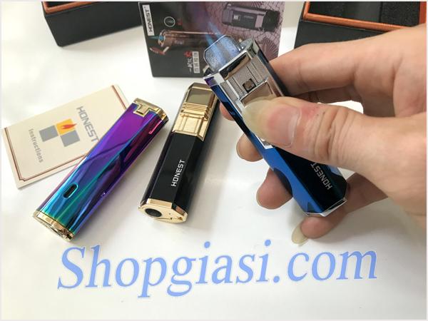 Shopgiasi.com|Bật Lửa Diêm Xăng|Bat lua honest,hop quet kieu dang doc dao,bat lua gia si
