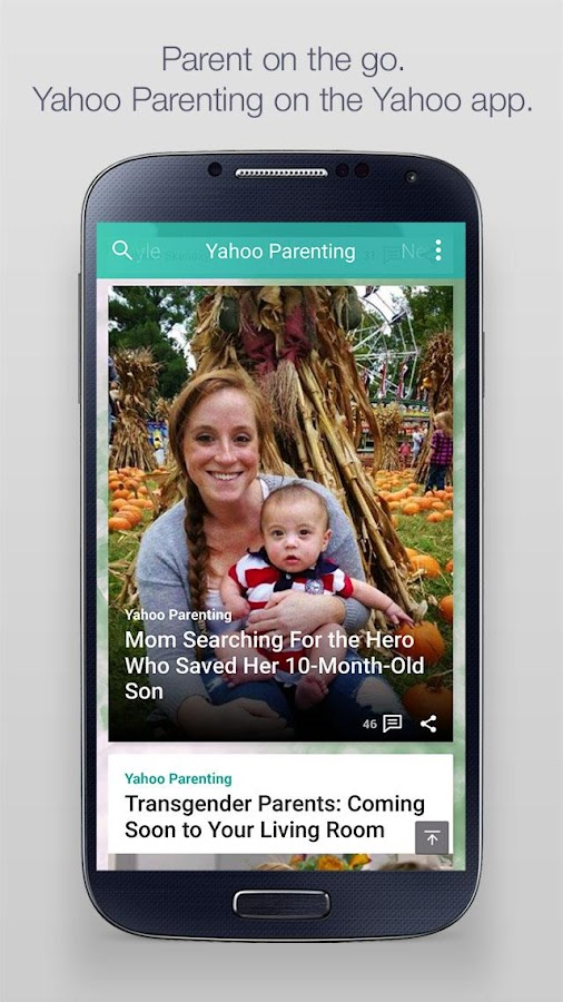 Yahoo - News, Sports & More- screenshot