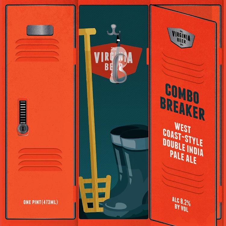 Logo of Virginia Beer Co. Combo Breaker West Coast DIPA