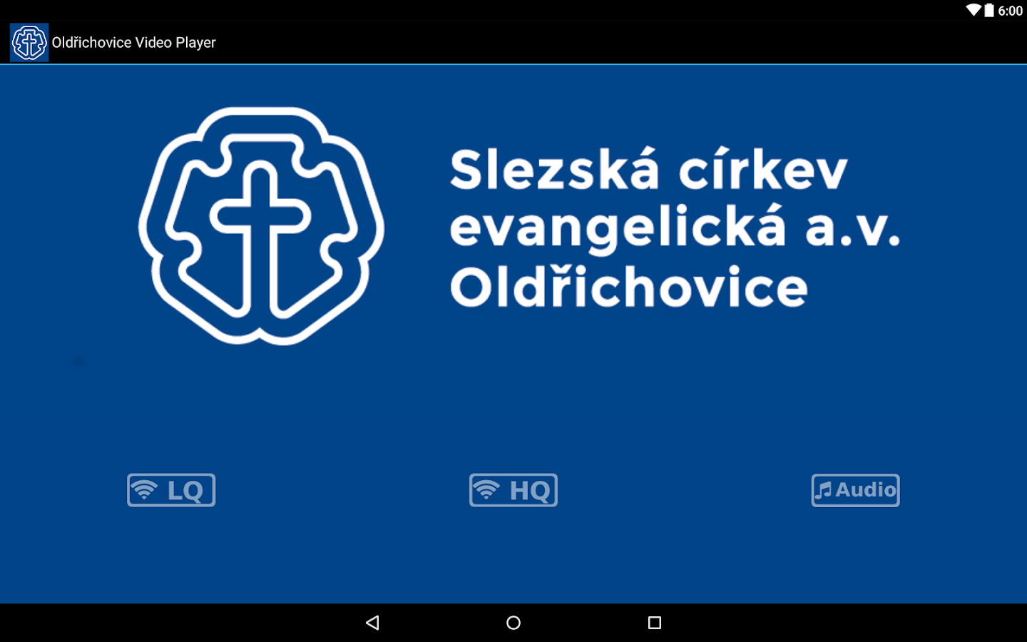 Oldřichovice Video Player- screenshot
