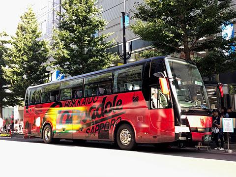 北海道バスフェスティバル2019_17 ジェイ・アール北海道バス「コンサドーレ号」