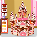 Chocolate Castle Cake icon