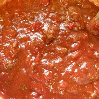 Super Easy Spaghetti Sauce.