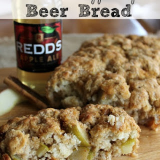 Cinnamon Apple Spice Beer Bread.
