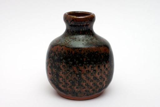 John Leach Ceramic Bud Vase 001