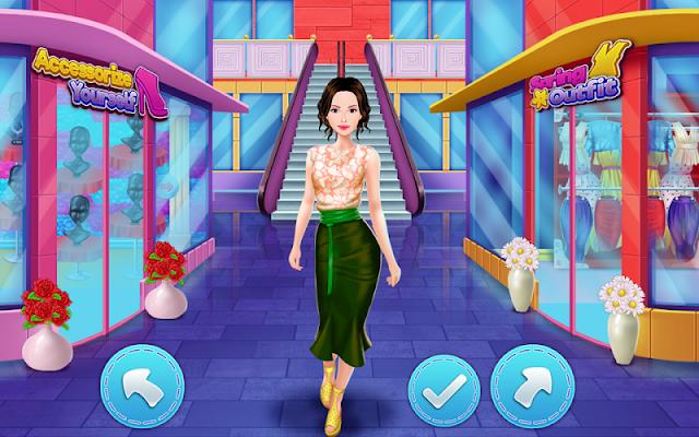 Girls Mall Shopping - screenshot