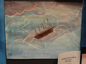 Photo: Stormy Sea By Grade 2 and 4