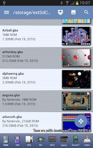 VGBAnext – GBA / GBC / NES Emulator 6.1 PAID 2