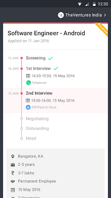 Job for Sure: IT Jobs & Career - screenshot