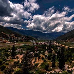 by Debasis Banerjee - Landscapes Mountains & Hills