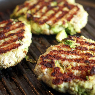 Chicken Avocado Burgers.