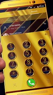 Aurum Gold & Diamonds Premium Launcher Theme - náhled